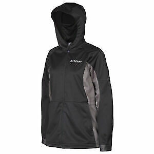 $ CDN100.47 • Buy Klim Evolution Hoodie Pullover XL Black Grey Womens Snowmobile Hoody