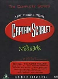 Captain Scarlet And The Mysterons (DVD, 2001, 6-Disc Set, Box Set) • 24£