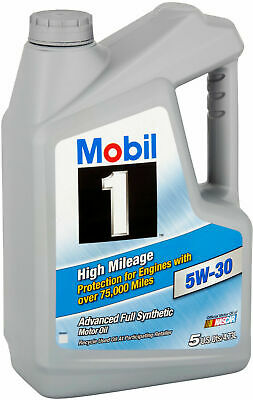 $ CDN223.21 • Buy (6 Pack) Mobil 1 5W-30 High Mileage Full Synthetic Motor Engine Oil, 5 Qt.