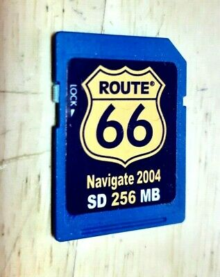 Mio Sat Nav Route 66 Navigate 2004 256 MB SD Card • 9.99£