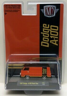 $ CDN13.91 • Buy NEW!!!! M2 Machines 1967 Dodge A100 Panel Van LIMITED ED 3600PCS HS04 19-83 1/64