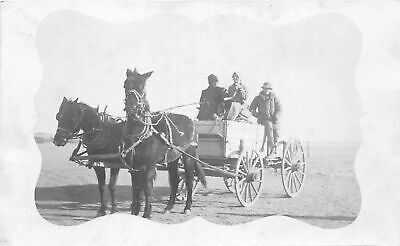 $ CDN17.11 • Buy G26/ Kit Carson Colorado RPPC Postcard C1920s Wagon Horses