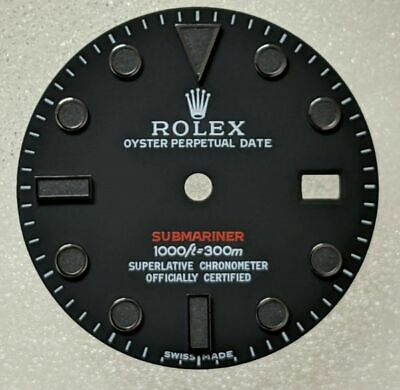 $ CDN347.30 • Buy ROLEX SUBMARINER 300m. DIAL IN BLACK MATTE RED WRITING REFINED
