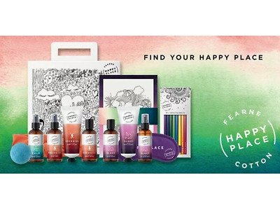 Fearne Cotton Find Your Happy Place Deep Sleep Colour Vegan Christmas Gift NEW • 94.99£