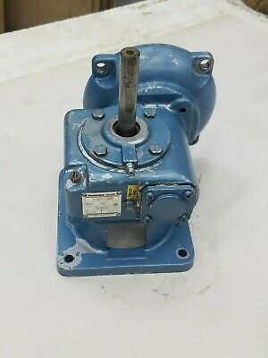 $499 • Buy Morse 13GCV 10 RUD Right Angle Worm Drive Gear Reducer 10:1 Ratio .53 HP