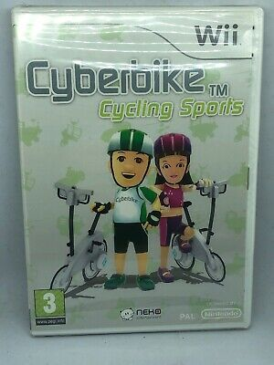 Cyberbike Cycling Sports - Nintendo Wii / Wii U - Fast P&P! - Cyber Bike, Cycle • 10.99£