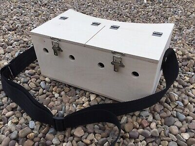Double Bow Back Ferret Carry Box Ferreting Rabbiting Hunting • 30£