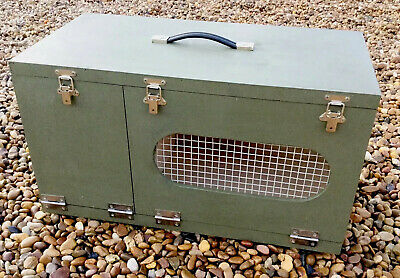 Weekend Box Ferret Carry Box Small Animal Hutch Rabbiting Hunting Holidays Shows • 65£