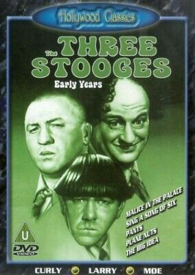 The Three Stooges - Early Years 3 [DVD] - DVD  ZEVG The Cheap Fast Free Post • 3.49£