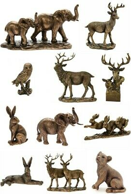 £11.99 • Buy Reflections Bronzed Animals Ornament Figure Gift Boxed Present Wildlife