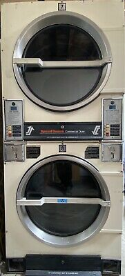 $772.20 • Buy Used Commercial Speed Queen 30lb Gas Dryer Stacks ( X5 ) $1287 Each