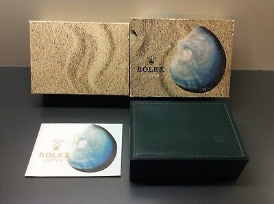 $ CDN598.80 • Buy Rolex 16014 Vintage 1979 Shell Oyster Watch Box+Your Rolex Oyster Booklet 579.07