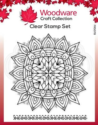 Woodware  - Clear Singles -  Mandala Two • 3.95£