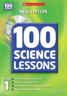 100 Science Lessons For Year 1 With CD-Rom By Wilson, Gay Mixed Media Product • 9.08£