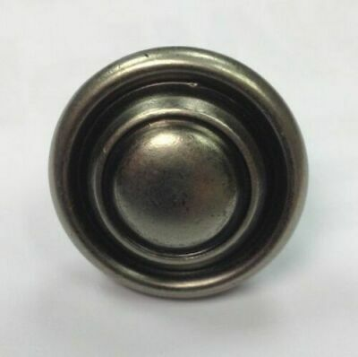 Pewter Knob Handle Cupboard / Kitchen Door Button Knob 32mm Antique Effect • 1.85£