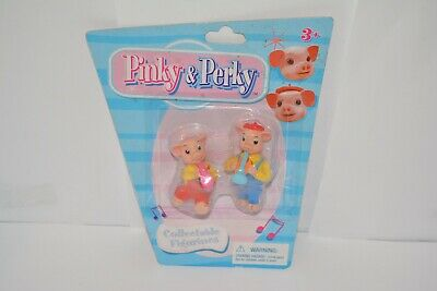 £12.99 • Buy Rare Set Of 2 Pinky And Perky Figures Collectable Figurines Sealed On Card (3)