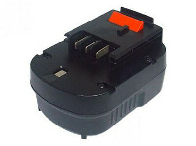 Battery For Black & Decker A12-XJHPB12, Nimh / 12V/2000mAh • 29.19£