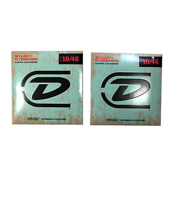 $ CDN22.53 • Buy Dunlop Guitar Strings  2 Sets  Billy Gibbons Electric 10-46 Reverand Willy