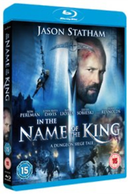 Jason Statham, Leelee Sobieski-In The Name Of The King - A Dungeon S Blu-ray NEW • 3.81£