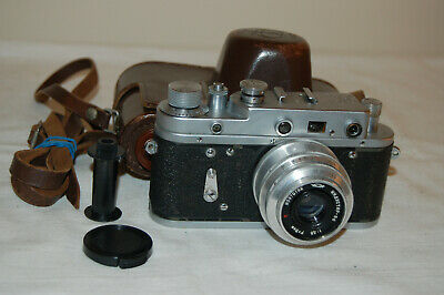 Zorki-2c Vintage 1959 Rangefinder Camera And Industar Lens. No.59998830. UK Sale • 49.99£