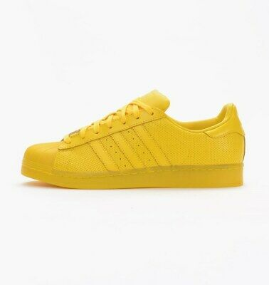 $ CDN106.04 • Buy Adidas Originals Superstar Adicolor Yellow S80328 Sz 13 Retro Classic Shell Toe