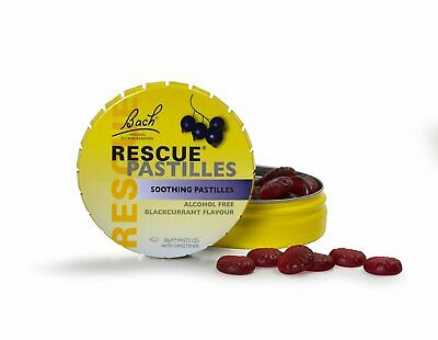 RESCUE Remedy Pastille Alcohol-free, Blackcurrant Flavour -  50g • 5.88£