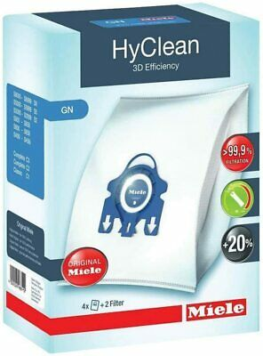 £10.78 • Buy Miele HyClean GN 3D Vacuum Cleaner Dust Bags S2000 S5000 S8000 4+2 Filter
