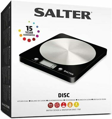 Salter Digital Kitchen Weighing Scales Slim Design Electronic Cooking Scale • 15.37£