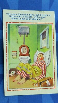 Inter Art Donald McGill Comic Postcard 1930s Photography Photo Boarding House • 9.80£