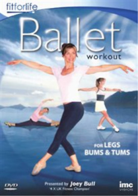 Ballet Workout - For Legs, Bums And Tums DVD NEW • 9.48£