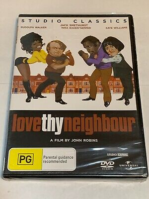 AU17.99 • Buy LOVE THY NEIGHBOUR  DVD  New Sealed Jack Smethurst Rudolph Walker Free Post