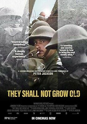 $12.98 • Buy THEY SHALL NOT GROW OLD New Sealed DVD Peter Jackson