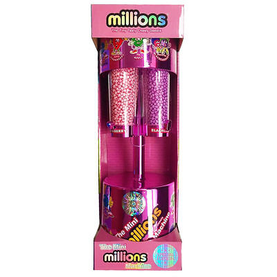 Mini Millions Sweet Dispenser Machine Toy Ideal Gift For Kids Pink • 23.88£