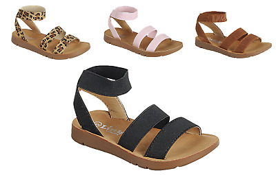 $14.95 • Buy Baby Toddler Girls Strappy Sandals Gladiator Summer Spring Shoes Sz 4-8
