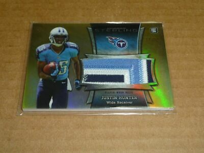 $3.50 • Buy 2013 Bowman Sterling JUSTIN HUNTER JERSEY PATCH GOLD TITANS /50 E7885