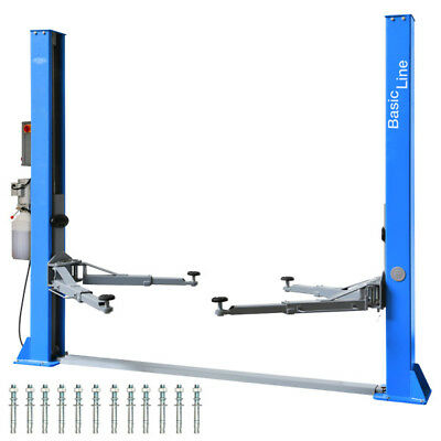 2 Post Lift 4.2 T Twin Busch ® BASIC-Line TW 242 A - Two Post Car LIft Ramp • 1,299£