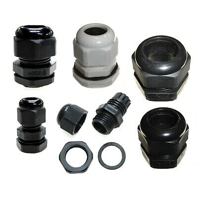 £3.99 • Buy IP68 Waterproof Cable Glands For Boxes Panels ( Pick Colour And Size 12 - 50mm )