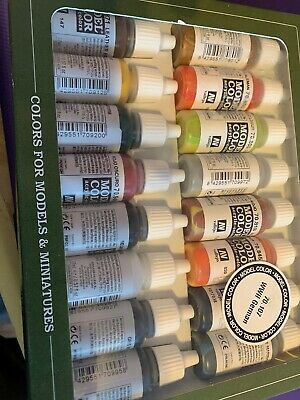 Vallejo Model Color 70.107 WWII German Color Set 16x17ml Acrylic Paints-NEW • 22.99£
