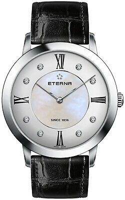 Watch Woman Eterna 2711.41.66.1394 Leather Black • 591.16£