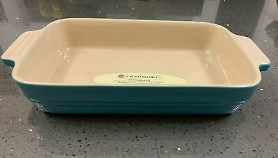 LE CREUSET LARGE CASSEROLE PAN BAKING ROASTING DISH OVEN TO TABLE 39 Cm X 26 • 36£