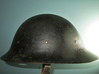 Original Dutch WW1 Helmet Model16B Stahlhelm Casque Casco Elmo Kask κράνς 胄 шлем • 130.62£