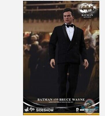 $ CDN926.26 • Buy 1/6 Batman Returns MMS 294 Batman & Bruce Wayne Set Hot Toys
