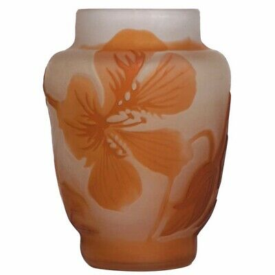 £532.39 • Buy Emile Galle French Cameo Cabinet Vases, Circa 1900