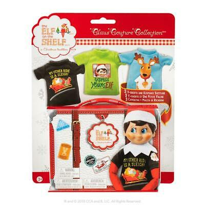AU24.95 • Buy Elf On The Shelf Claus Couture Collection - Graphic Tee Multipack