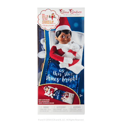 AU24.95 • Buy Elf On The Shelf Claus Couture Collection - Scout Elf Slumber Set