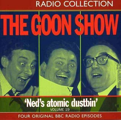 The Goon Show Volume 19: Ned's Atomic Dustbin By Spike Milligan 9780563535478 • 10.74£