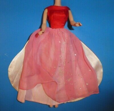 $ CDN14.56 • Buy Vintage Barbie Doll Clothes - Vintage Barbie 1646 Magnificence Dress