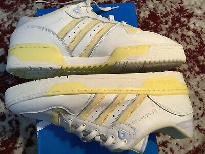 $ CDN120 • Buy Adidas Originals Rivalry Low Shoes Cloud White Off White Yellow SZ 12.5 US