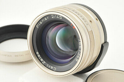$339 • Buy *Excellent+++* Contax Carl Zeiss G Planar 45mm F/2 From Japan #4051