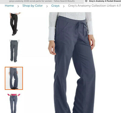 $21.50 • Buy Greys Anatomy Barco Scrub Pants 4 Pocket Cargo. GRANITE. Size S. NWT Free Ship!
